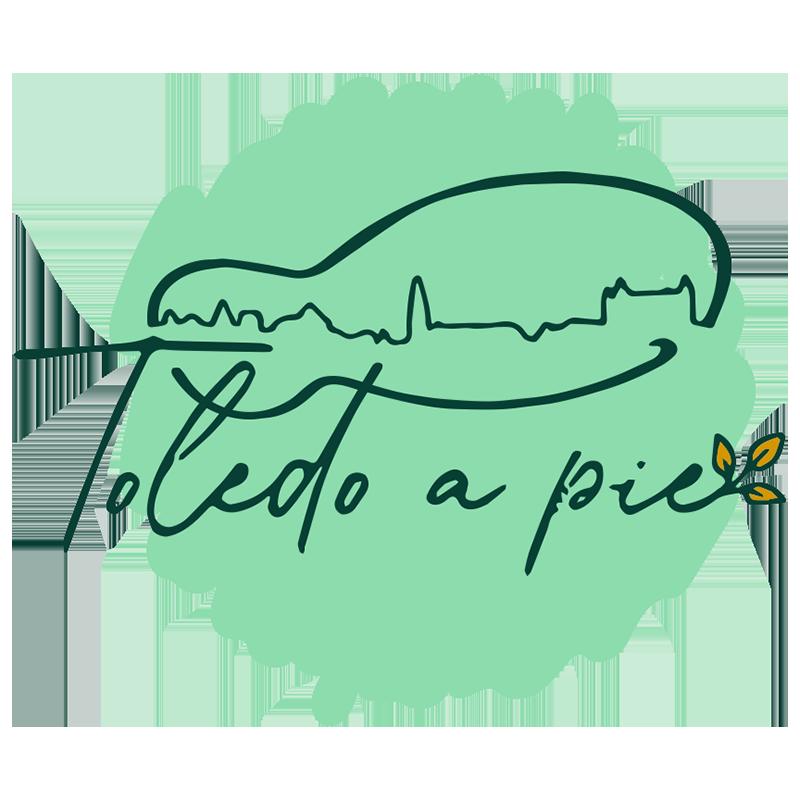 Toledo a Pie Logotipo