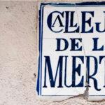 Callejón de los Muertos en Toledo