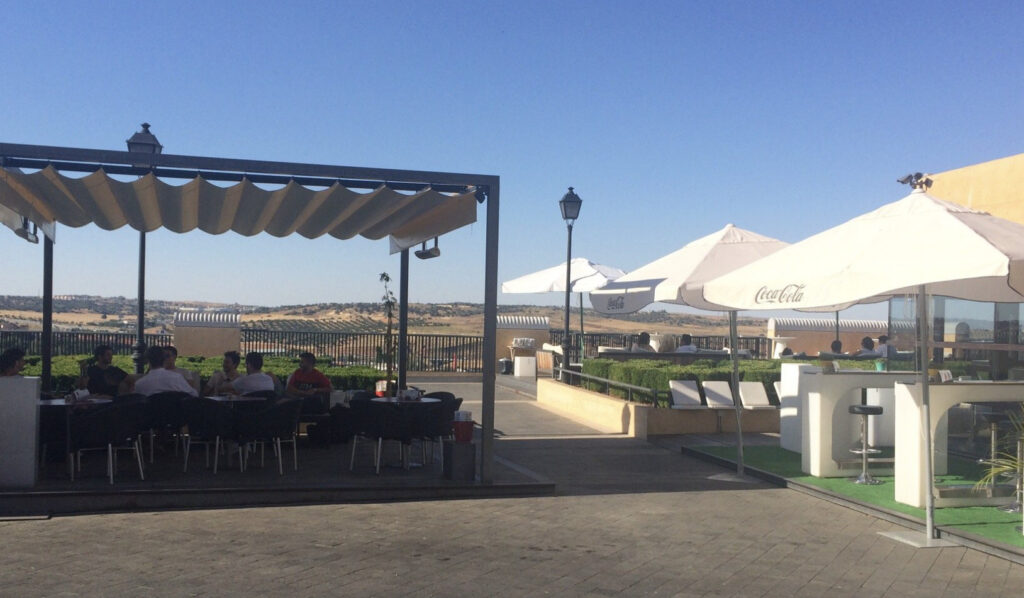 Vista Terraza del Miradero de Toledo