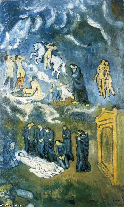 el entierro del señor de orgaz por Picasso